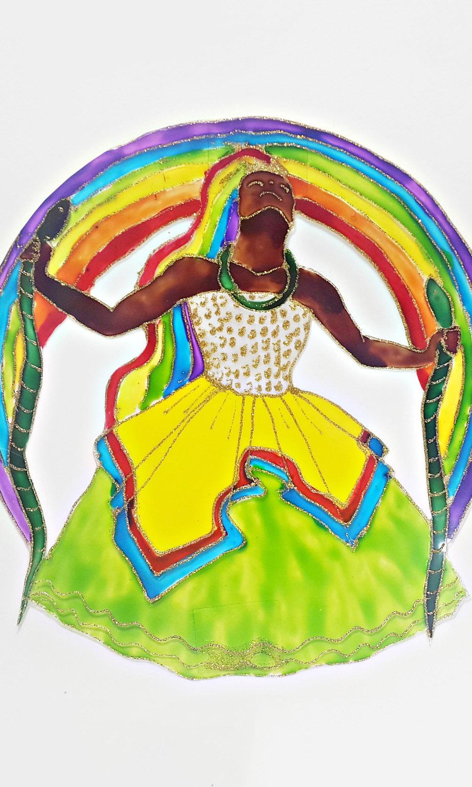 Arte-Oxumaré-Orixá-Umbanda-Candomblé-Caotize-se7